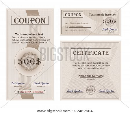 Coupon Collection Paper