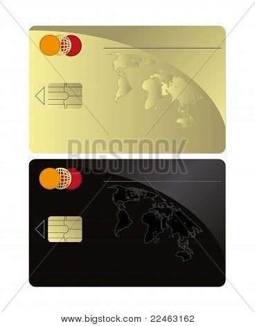 raster Credit card