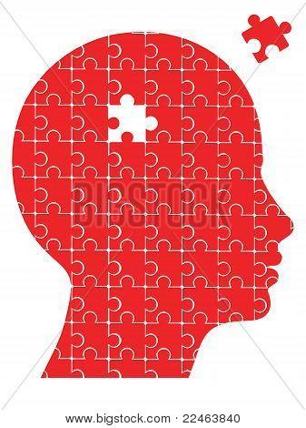 missing piece puzzle head
