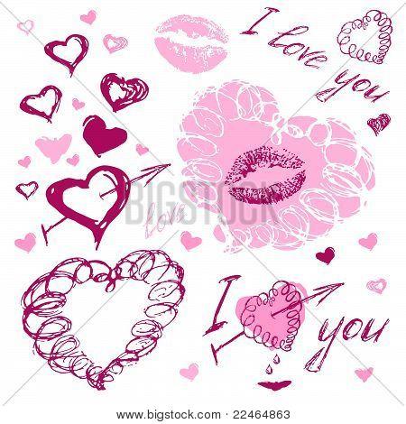 love doodles, i love you