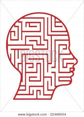 principal vetor de labirinto