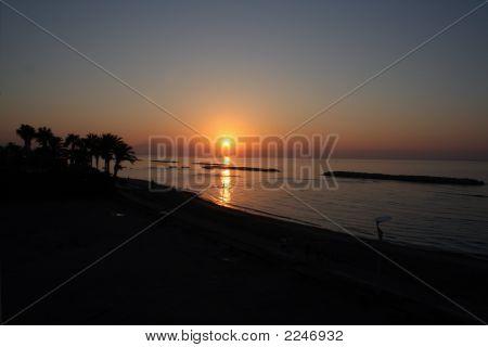 Puesta de sol de Ayia Napa