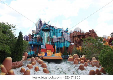 Universal's Island Of Adventure In Orlando, Florida