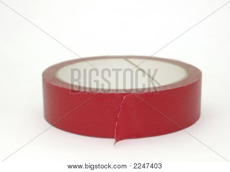 Red Masking Tape