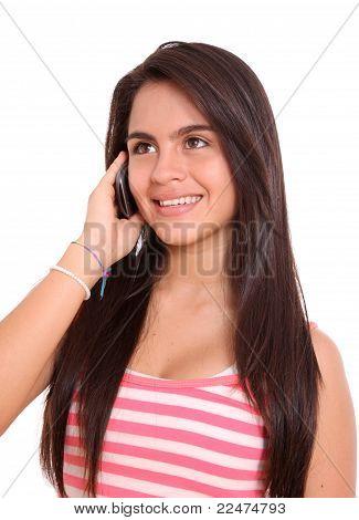 Woman Talking Cellphone