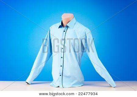 Shirt hanging on the hanger