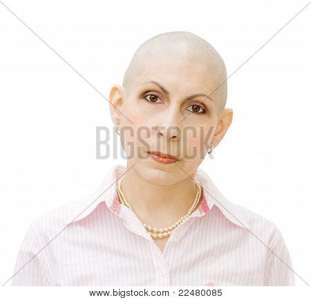 Retrato de enfermo de cáncer
