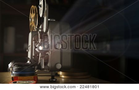 8mm Film Projector