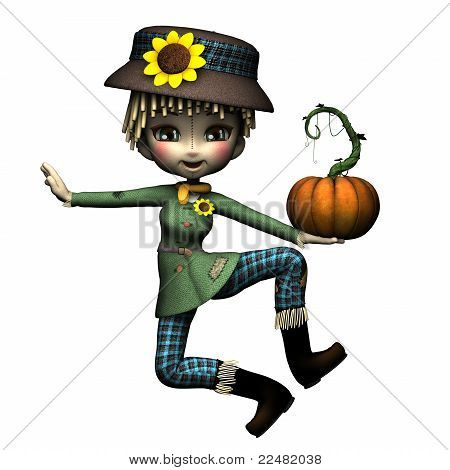 The Littlest Scarecrow