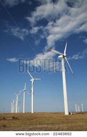 Geradores de energia eólica