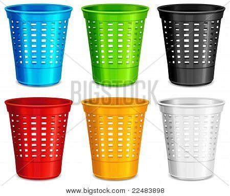 Color Plastic Basket
