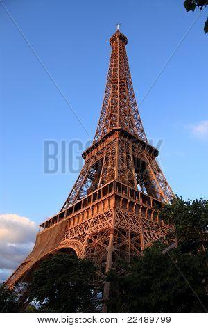 A Torre Eiffel