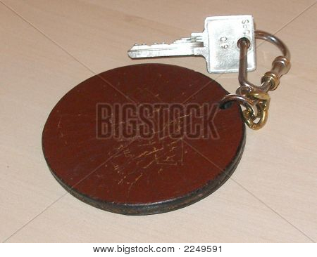 Key On Keyring And Tag