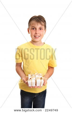 Child With Many Presents