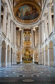 stock photo of versaille  - Great Hall Ballroom in Versaille Palace Paris France - JPG