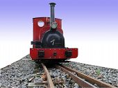 pic of chug  - Maid Marion Miniature Train isolated with clipping path - JPG