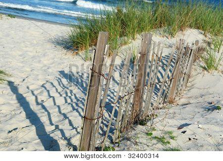 Fence on Sand Dunes
