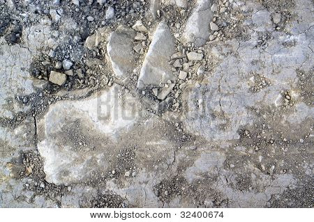 Loamy Ground And Pebbles