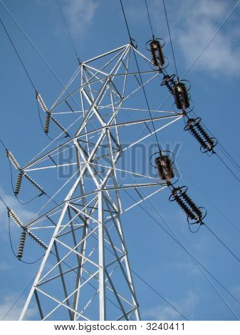 High Tension Tower And Insulators