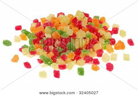 Colourful Candied Fruits