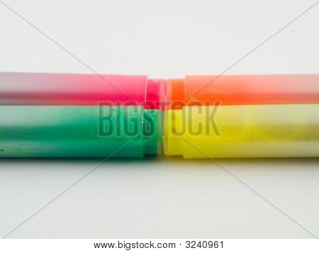 Bright Color Office Marker Highlighter Pens
