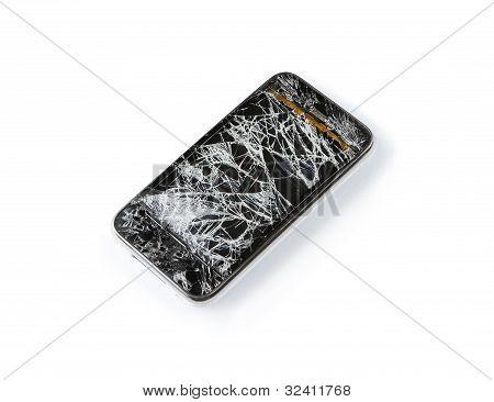 Roto el teléfono inteligente