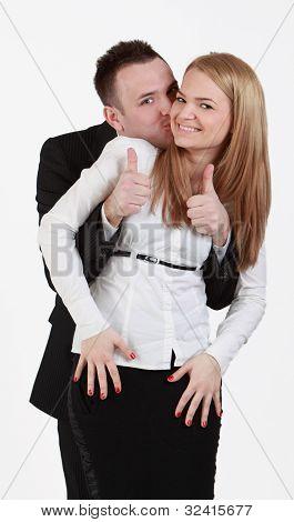 Gelukkige paar