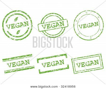 Sellos de Vegan