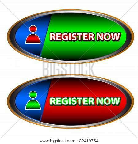 Buttons Register Now