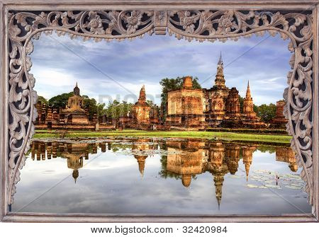 Sukhothai Historical Park In