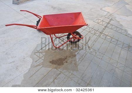 Concrete Wheel Barrow