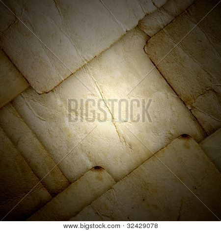 Abstract music rusty background with the word rock