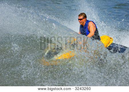 Powerful Jet Ski In Action