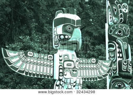 Totem poles