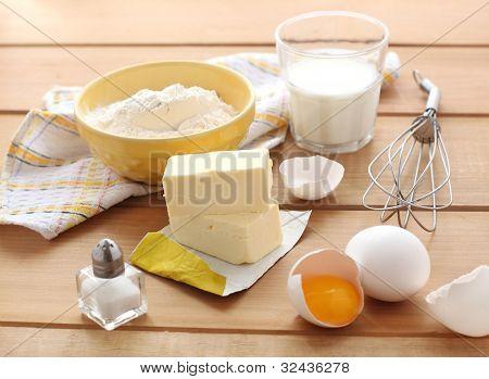 Ingredients for tart