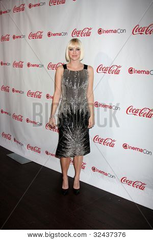 LAS VEGAS - APR 26:  Anna Faris arrives at the CinemaCon 2012 Talent Awards at Caesars Palace on April 26, 2012 in Las Vegas, NV