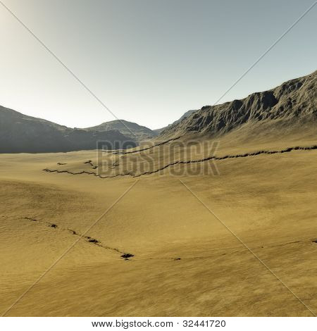An image of a nice desert background