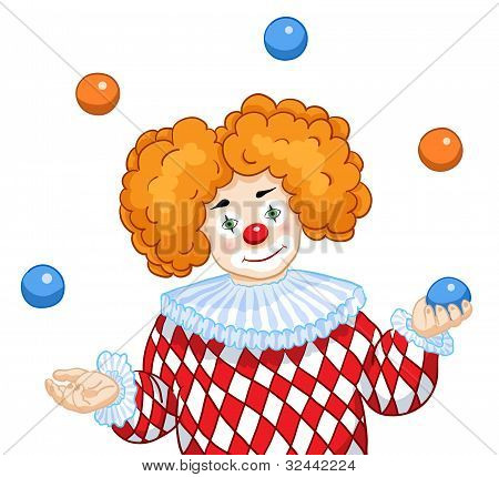 A Juggling Clown