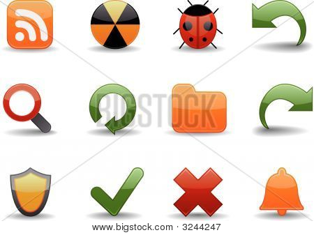 Web Icons | Glossy Series Part 4