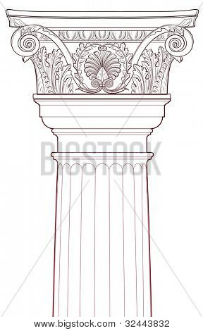 Design Elements - Ancient Column