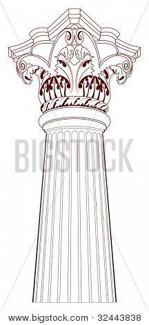 Design Elements - Ancient Column