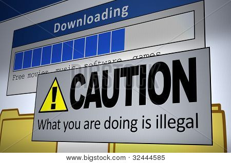 Download ilegal