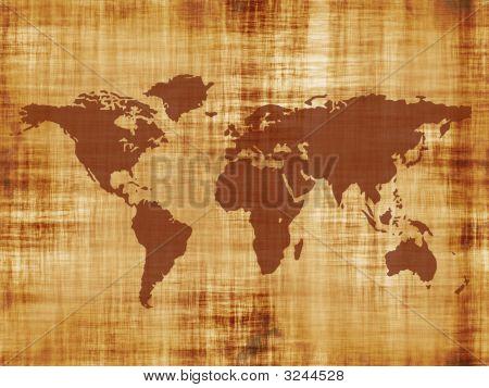 Mapa del viejo mundo
