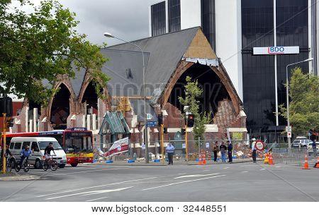 Terremoto de Christchurch - iglesia Knox para ser restaurado