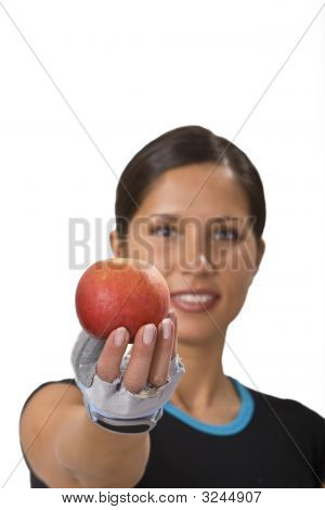 Offering An Apple