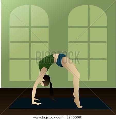 Yogi (upward Bow)