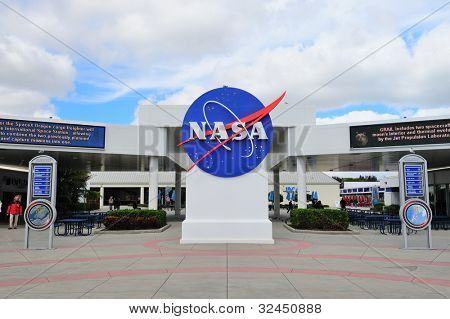 MERRITT ISLAND, FL - FEB 12: NASA in Kennedy Space Center on February 12, 2012 in Merritt Island, Florida. It is the launch site for every United States human space flight since 1968.