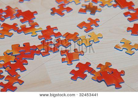 Puzzle Orange