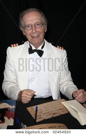 "BURBANK - APR 22:  Bernie Kopell participates at ""The Hollywood Show"" at Burbank Airport Marriott on April 22, 2012 in Burbank, CA"
