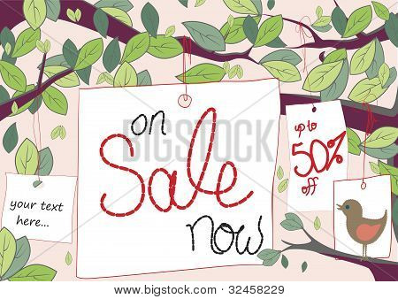 Sale Tag Tree